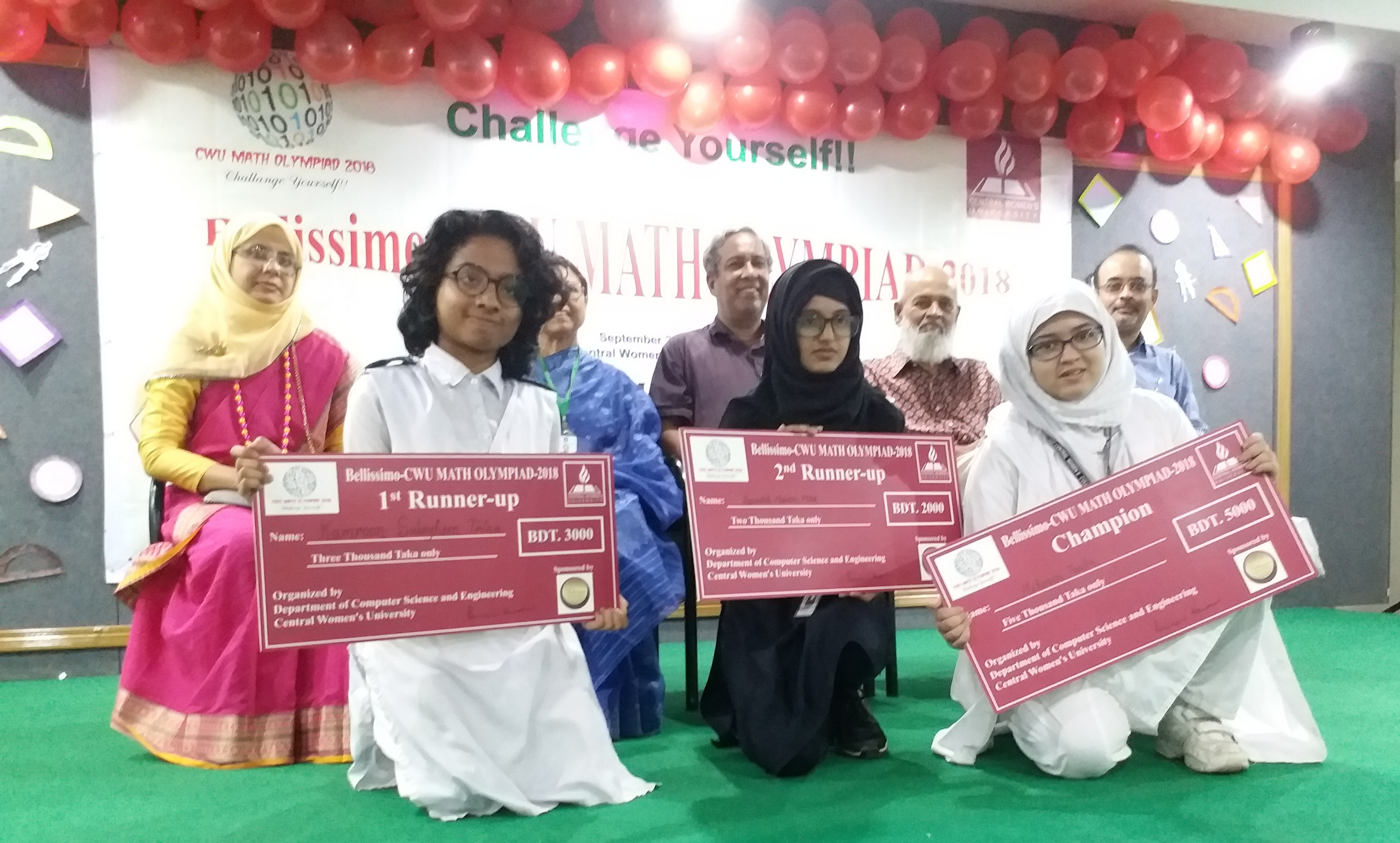 Central Women's University | Math Olympiad for girls at
